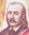 Kazimierz Łyszczyński på ett vitryskt frimärke. Bild. wikipedia.
