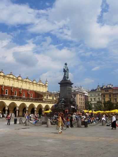 Rynek Glowny har åter utsetts till världens bästa torg.  Foto: Jan Maltestam.