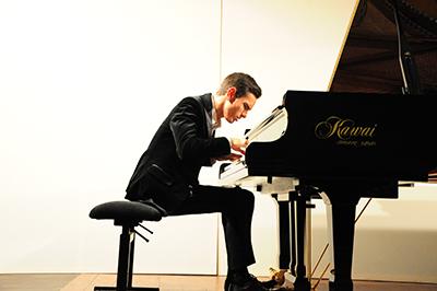 Ännu en lovande pianist – ryssen Dmitry Shishkin. Foto: Stanisław Godula.