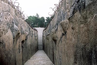 Förintelselägret i Belzec. Under några månader 1942 mördades här 500.000 judar.