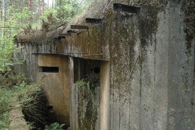 En av Molotovlinjens bunkrar byggdes vid Dziewiecierz. Det var dock ingenting som stoppade Hitlers soldater.