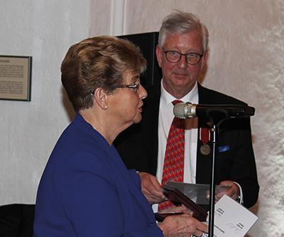 Ann-Cathrine Haglund och Peter Eklund. Foto: Waldemar Ostrycharczyk