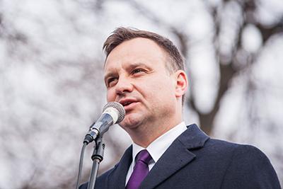 President Andrzej Duda Foto: Radosław Czarnecki, wikipedia.