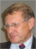 Förre polske finansministern och centralbankschefen Leszek Balcerowicz föreläste i Uppsala. Foto: Joanna Backman.