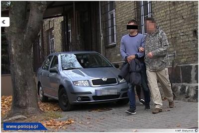 Polisen i Bialystok har gripit ultranationalister som ägnat sig åt organiserad brottslighet