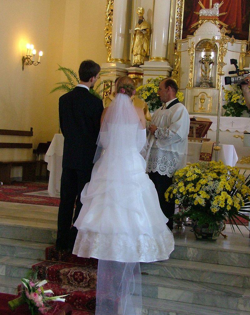 Polska brudpar är yngst i Europa. Bild. wikipedia.