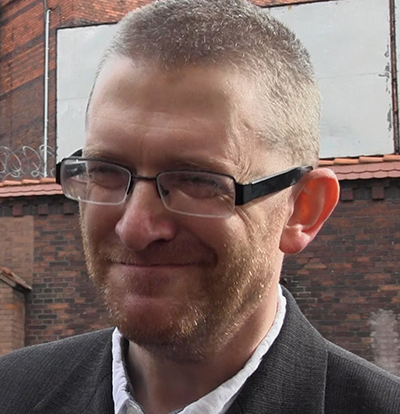 Politiskt intresserade filmregissören Grzegorz Braun