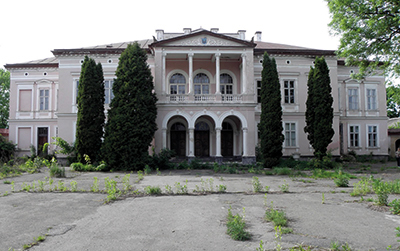 Slottet Busk i nuvarande Ukraina.