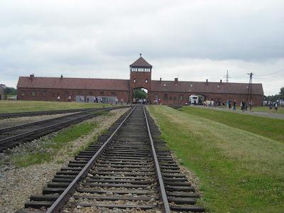Auschwitz huvudentré. Foto. Marika Mohlin.
