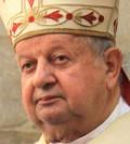 Kardinal Stanisław Dziwisz i Kraków manar politikerna att enas.  Foto: Jarosław Kruk, wikipedia.