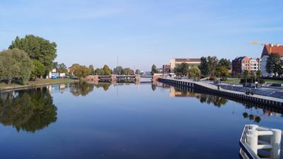 Elbląg-kanalen i norra Polen har öppnats igen efter två års reparationer. Bild: wikipedia.