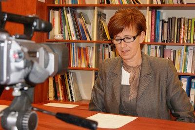 Familje-, arbets- och socialminister Elżbieta Rafalska. Foto: facebook.