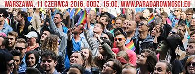 Den 16:e Jämställdhetsparaden hölls i Warszawa på lördagen. Foto: Facebook.