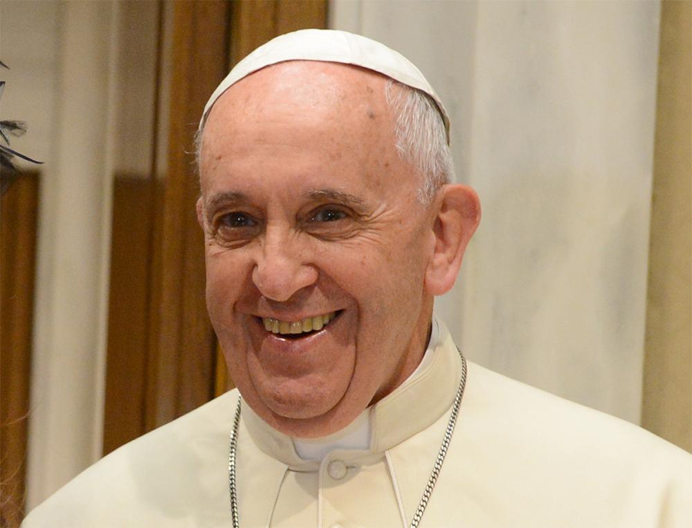 Påve Franciskus. Foto: wikipedia.