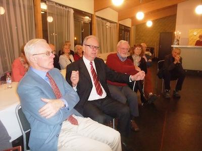 Gudmund Ahlberg, Ola Mårtensson, Gunnar Olsson