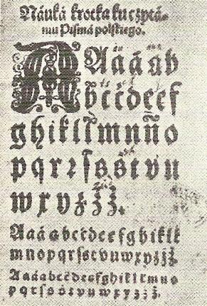 Det polsk alfabetet har inte förändrats sedan 1600-talet.