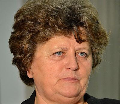 PiS-parlamentarikern Gabriela Masłowska. Foto: Adrian Grycuk, wikipedia.