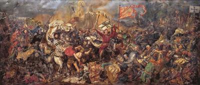 Slaget vid Grunwald, av Jan Matejko.