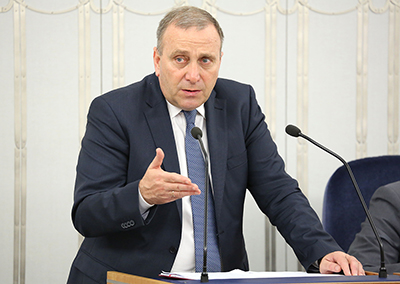Grzegorz Schetyna, ordförande i oppositionspartiet Medborgarplattformen, PO. Foto: Michał Józefaciuk, wikipedia.