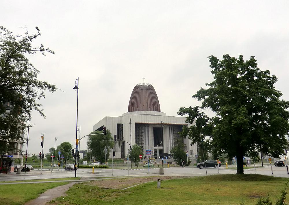 Den Gudomliga Försynens Tempel invigs efter 225 år. Foto: Gunilla Lindberg