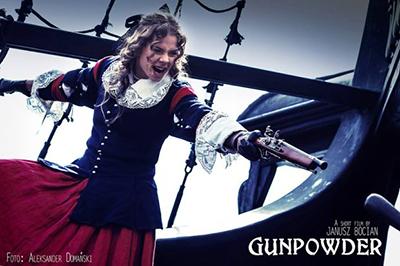 Den mordiska hustrun  spelas av Weronika Kamola. Foto: Aleksander Domański.