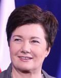 Warszawas borgmästare Hanna Gronkiewicz-Waltz försvarar Ewa Kopacz. Foto: wikipedia.