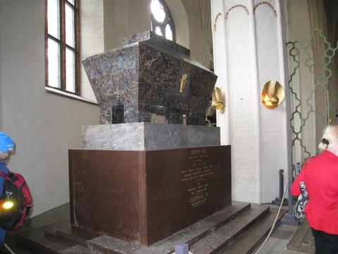 Erik XIV:s sarkofag.