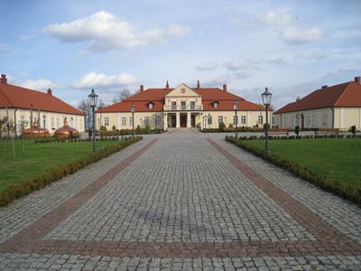Leżajsks museum är inrymt i ett av familjen Potockis slott.