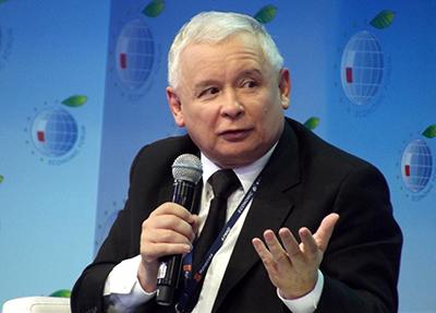 PiS-ledaren Jarosław Kaczyński. Foto: Magnus  Manske, wikipedia.