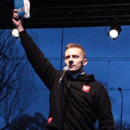 Jacek Międlar som han framträder på twitter.
