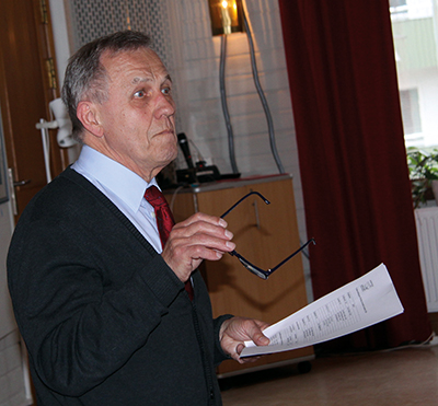Jan Maltestam från Blekingeföreningen.