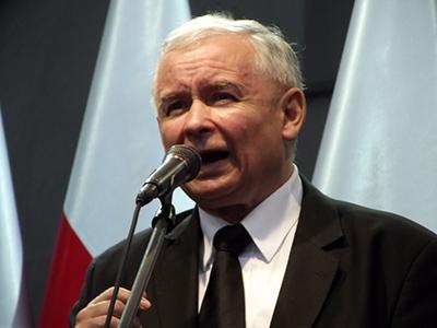 PiS-ledaren Jarosław Kaczyński. Foto: Piotr Drabik, wikipedia.