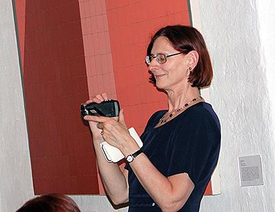 Joanna Backman, polonäsinstruktör i Uppsala.