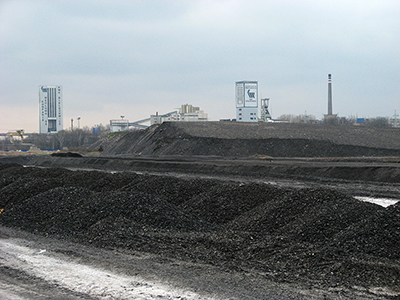 Bielszowice –gruvan i Ruda Śląska. Foto: wikipedia.