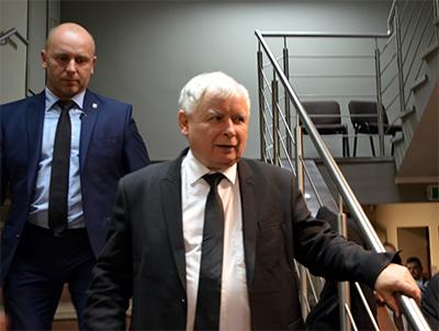 PiS-ledaren Jarosław Kaczyński. Foto: wikipedia.