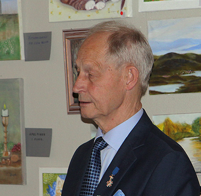 Stockholmsföreningens ordförande Kaj Wahlgren.