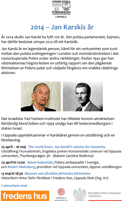 Karskis year 2014