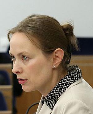 Polens nya ambassadör i Moskva, Katarzyna-Pełczyńska-Nałęcz. Bild: wikipedia.pl