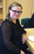 Katarzyna Błażejczyk flyttade till Sverige för drygt ett år sedan. Foto: Dorota Tubielewicz Mattsson