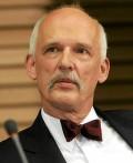 Janusz Korwin-Mikke – provocerande kandidat. Foto: wikipedia.