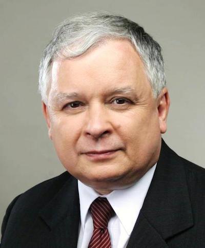 Presidenten Lech Kaczynski omkom i Smolenskkraschen 2010. Foto: wikipedia.