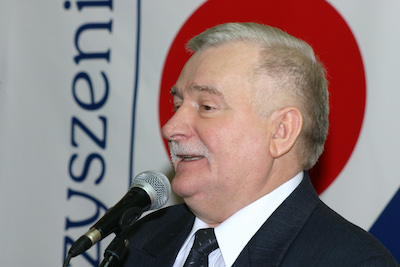 Lech Wałęsa. Foto: wikipedia.