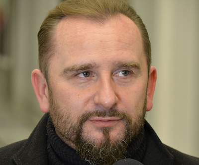 Rapparen Piotr Liroy-Marzec. Foto: Adrian Grycuk, wikipedia.