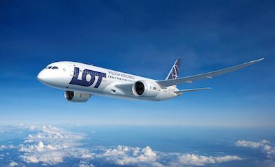 Statliga flygbolaget  Lot är en av pusselbitarna i planerna på en ny storflygplats i Polen. Foto: PLL Lot