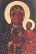 Svarta Madonnan i Chestochowa.