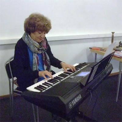 Magdalena Stoltz musik blev mycket uppskattad.