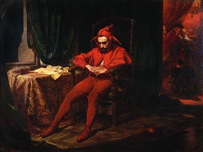Den vise hovnarren, målad av Polens främste historiske målare, Jan Matejko (1838–1893).