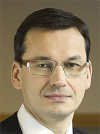 Utvecklingsminister Mateusz Morawiecki. Bild wikipedia.