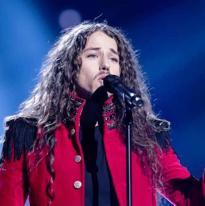 Michał Szpak sjöng sig till final i Stockholm på fredagskvällen. Foto: Facebook