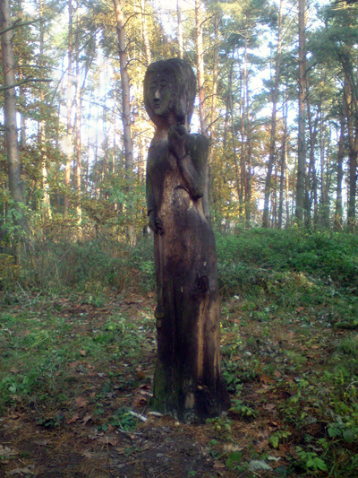 Modergudinnan Mokosz tillbes än idag av Polens förkristna.